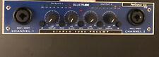 PreSonus BlueTube 2-Channel Stereo Tube Mic Pre-Amp Includes Generic AC Adapter.