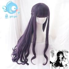 Cardcaptor Sakura Daidouji Tomoyo Wigs Lolita Princess Hair Hairpiece Cosplay