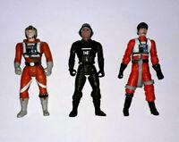 Star Wars REBEL PILOT LOT LUKE and BIGGS A-Wing Action Figure CUSTOM FODDER 021
