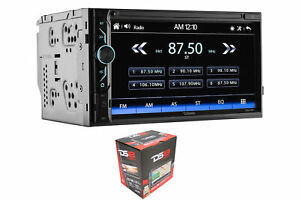 "DS18 6.9"" Double Din Bluetooth Touchscreen AUX/USB/SD/AM/FM Head Unit DDX6.9ML"