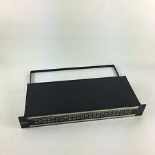 Bittree Patchbay 489A Series B48DC-HN  2X24 1.5RU 1/4 INCH LONG-FRAME PATCH-BAY