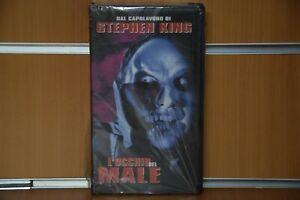 """VHS """"L'occhio del Male"""" Stephen King 1998 Collezione Sigillata Nuova Originale"""