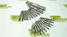 """New listing Lot Of 22 Hss Double End Mills 5/64"""" To 1"""" Weldon Itw Melin"""