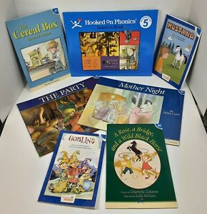 Hooked On Phonics Learn to Read Level 5 INCOMPLETE Books Workbook Parts