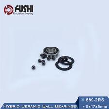 689 Hybrid Ceramic Bearing  9*17*5 mm  ABEC-1 ( 1 PC) Si3N4 Ball Bearings 689RS