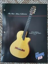 1993 Gibson Guitars Dealer Info Sheet for Chet Atkins Studio CE Case Candy