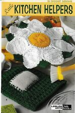 Little Kitchen Helpers 12 Crochet Designs | Leisure Arts 75050 Potholders