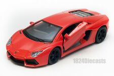 Lamborghini Aventador LP700-4 orange, Welly scale 1:34-39, model toy car gift