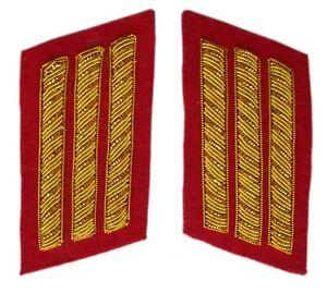 Artillery Captains Collar Insignias in pair, American Civil War, New