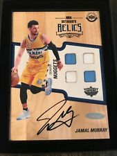 2016-17 Upper Deck Supreme Hard Court JAMAL MURRAY Rookie 5x7 Jersey Auto Relics