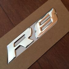 Chrome HSV VY VZ R8 Clubsport Maloo Badge