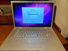 "MacBook Pro 2.4GHz 15"" 3,1 Santa Rosa (late 2007) with 4GB RAM and 256GB SSD"