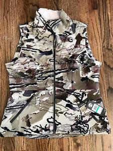 54 $90 Under Armour Latitude Ridge Reaper Barren Camo Vest Womens L 1343318-999