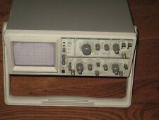 Vintage Goldstar Measuring Oscilloscope Os 9020a 20mhz