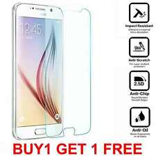 Case Friendly Clear Tempered Glass Screen Protector Cover for Samsung Galaxy S6