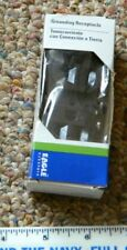 Eagle Electric Grounding Receptacle 270B-BOX 15A-125V, 2 Pole, 3 Wire  NEW