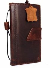 genuine vintage leather case for LG G4 book wallet cover slim magnet brown thin