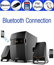 Boytone BT-3685F Wireless Bluetooth 2.1 Speaker System FM radio Remote NEW