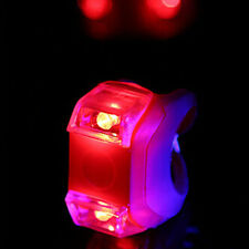 Bike Bicycle Silicone Frog Light LED Front /Rear Firm Safety Warning Lamp Useful