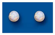 Opale Perno Di Orecchini Argento 5mm Argento Sterling Borchie