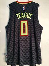 Adidas Swingman 2015-16 NBA Jersey Atlanta Hawks Jeff Teague Black Alt sz 2X
