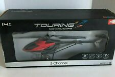 """17"""" SkyMaster Touring RC Helicopter Red 3-Channel Gyro"""
