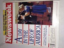 Newsweek Magazine A Day In America October 27, 1986 102016RH