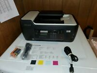 Lexmark Interpret S405 All-In-One Inkjet Printer W/ Power USB Cord New Ink +Blk