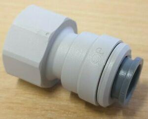 "John Guest Female 1/2"" BSP to 12mm Push Fit Water Adaptor - WS1232 -"