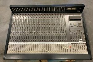 Tascam M-3700, 32 Ch Analog Console Mixer w/ Midi Automation, Mixing Board M3700