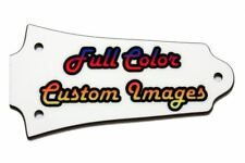 Custom Personalized Truss Rod Cover w/ picture/logo for Older Epiphone® Les Paul