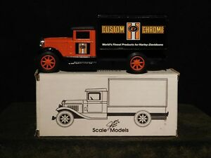 ERTL Freight Truck Bank - Custom Chrome, World's Finest Products for Harley