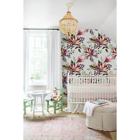 Flowers spring removable Wallpaper mural Self Adhesive Peel & Stick floral
