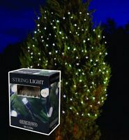 6.9M LED STRING SOLAR POWER WHITE PATIO & DECKING FAIRY LIGHTS 50 BULBS SLSL2