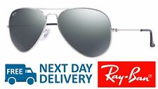 Ray-Ban Sunglasses Aviator 3025 W3277 Silver Grey Mirror Medium 58mm