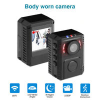 1080P HD Person Worn Camera Body Worn Camera Motion Detection IR Video Recorder
