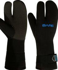 Bare Gloves 7mm K-Palm Three-Finger Mitt, Black WETSUIT OR DRYSUIT 30 L