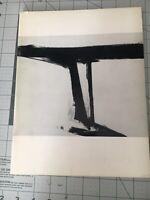 1961 Franz Kline Exhibition Catalog Sydney Janis Gallery First Edition New Works