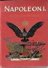 C1 NAPOLEON I Das Erwachen der Völker 1903 RELIE ILLUSTRE Von PFLUGK- HARTTUNG