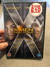 X-Men - First Class (DVD, 2012) New And Sealed