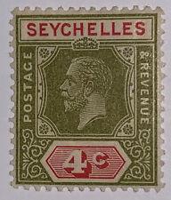 Travelstamps: 1928 Seychelles Stamps SG # 102 Mint OG