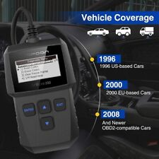 Car Engine Scanner Auto Diagnostic Tool OBD2 Code Reader Analyzer Multi-Language