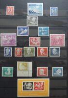 Spitzen DDR Sammlung 1949-1990 postfrisch ** fast komplett - Mi. 4900,-