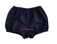 Navy Blue Cotton Pants Pantaloons India Maid Sissy Adult Baby Fits Underwear