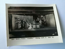 Original WW2 prisoner of War photo NCO's Panto ALADDIN SHOW stalag luft 3 D23