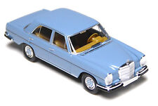 H0 BREKINA Starmada Mercedes Benz MB 280 SE W 108 pastellblau TOP Modell # 13100