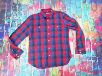 AE79 Levis Checked Shirt Cotton Made & Crafted Size Large