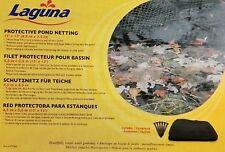 Laguna Protective Pond Netting,(15 ft x 12 ft), black