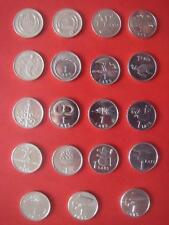 1992 - 2013 Latvia ,LETTLAND 1 lats BEER ,stork 26 coin pre euro UNC FREE SHIPP