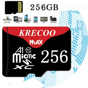 256GB TF Flash 100M/S Micro-Speicherkarte Klasse10 für Auto & Telefon & Kamera